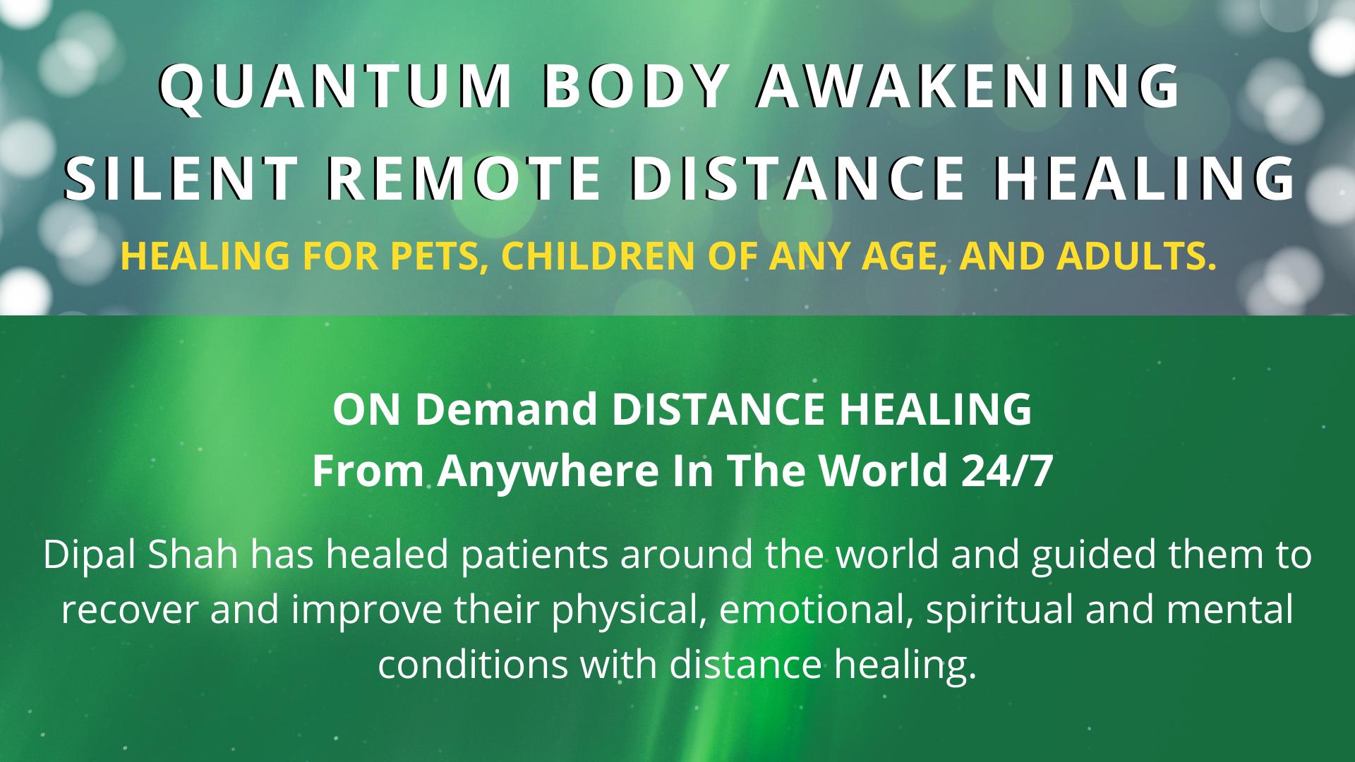 Quantum Body Awakening Silent Remote Healing 1