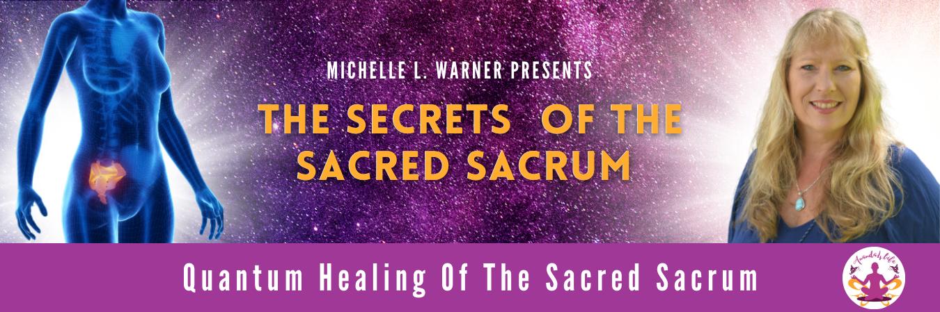 The Sacred Sacrum 1